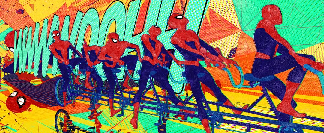 Spider-Man: Into the Spider-Verse (2018) — Art of the Title