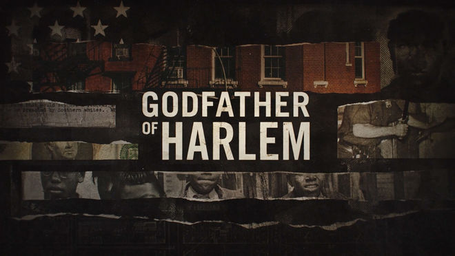 IMAGE: Godfather of Harlem title card