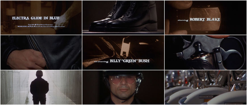 VIDEO: Title Sequence - Electra Glide in Blue