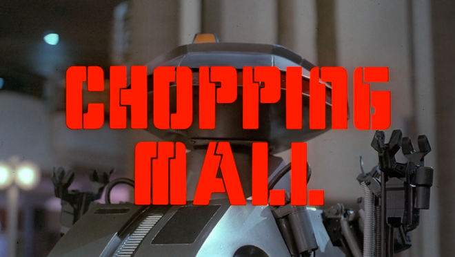 IMAGE: Chopping Mall title card