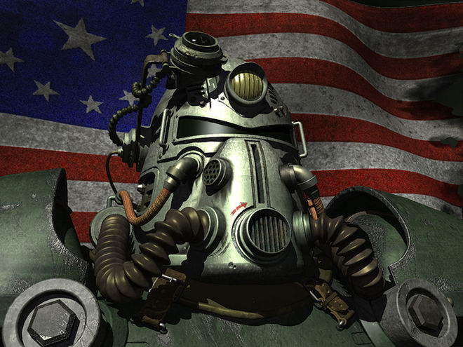 IMAGE: Fallout Power Armor Render