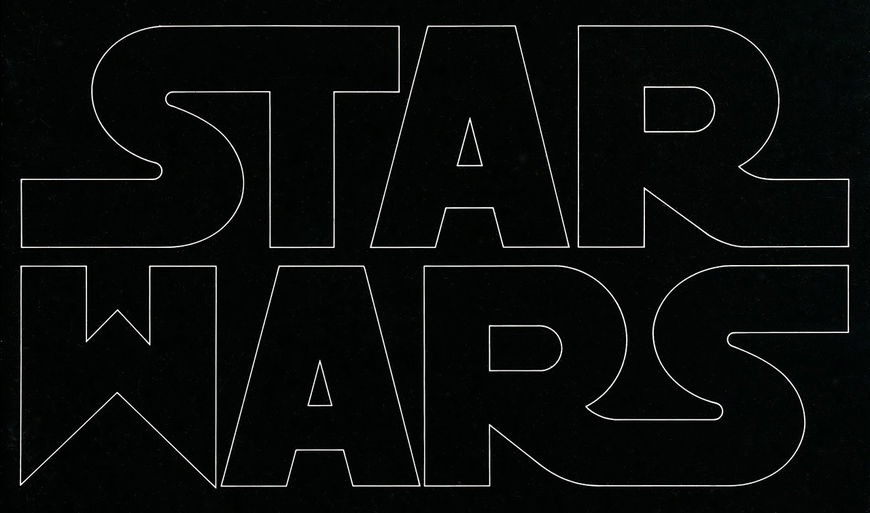 Star Wars 1977 Art Of The Title