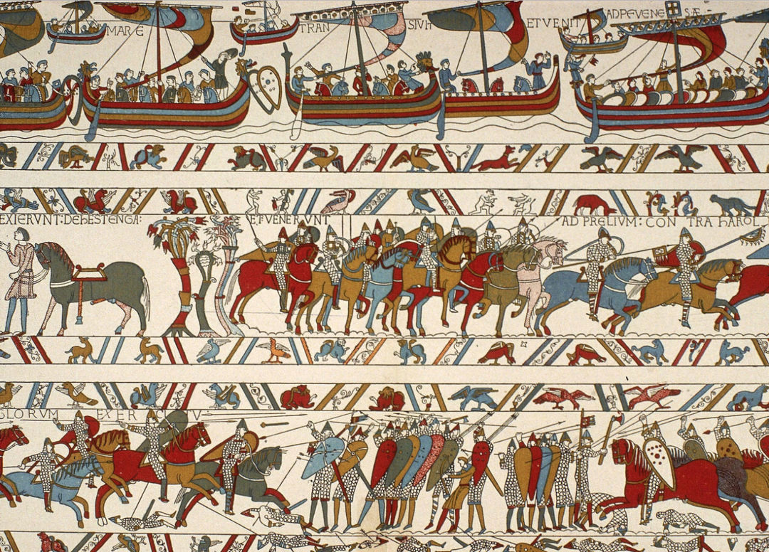 IMAGE: Bayeux tapestry