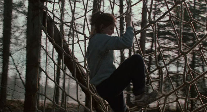 IMAGE: Still - Foster climbing rope wall