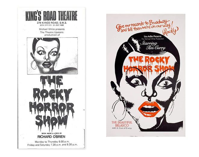 IMAGE: Playbill and poster