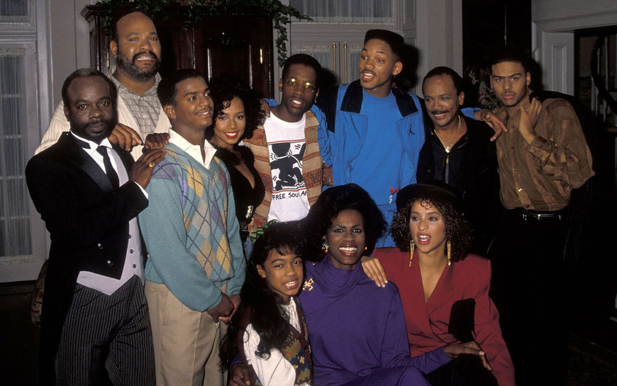 IMAGE: Fresh Prince Cast Photo