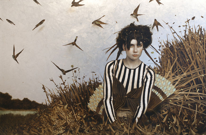 IMAGE: Work by Brad Kunkle – The History of Nature