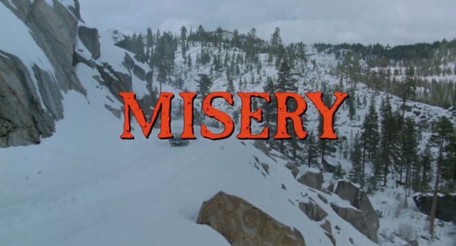 IMAGE: Misery title card