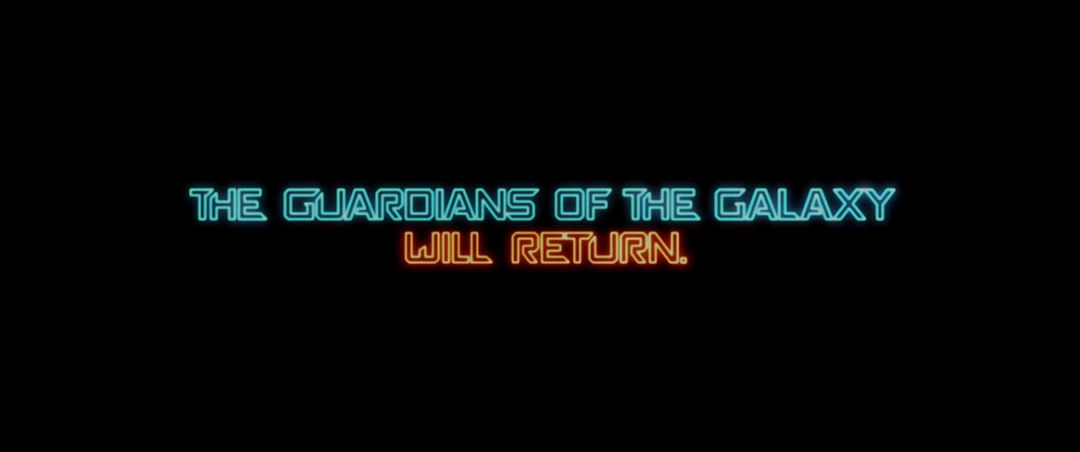 Guardians Of The Galaxy Vol 2 2017 Art Of The Title
