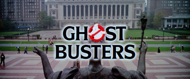IMAGE: Ghostbusters title card