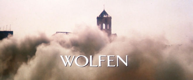 IMAGE: Wolfen title card