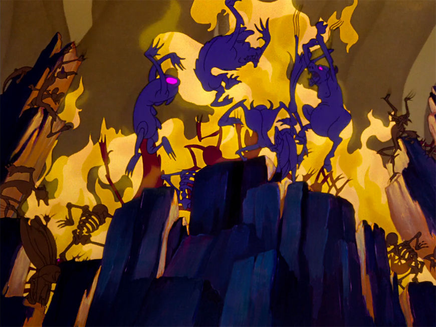 IMAGE: Fantasia still - 26 fire dance