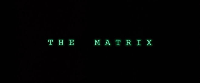 IMAGE: The Matrix title card