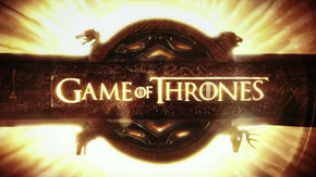 IMAGE: Game of Thrones title card