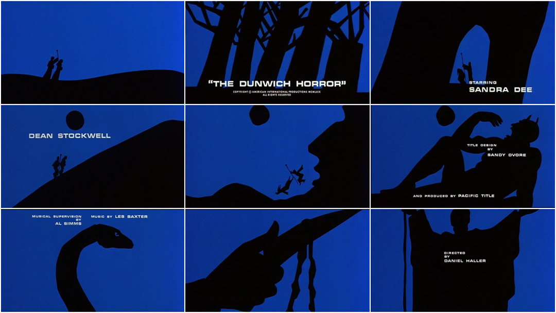 VIDEO: Title Sequence - The Dunwich Horror (1970)