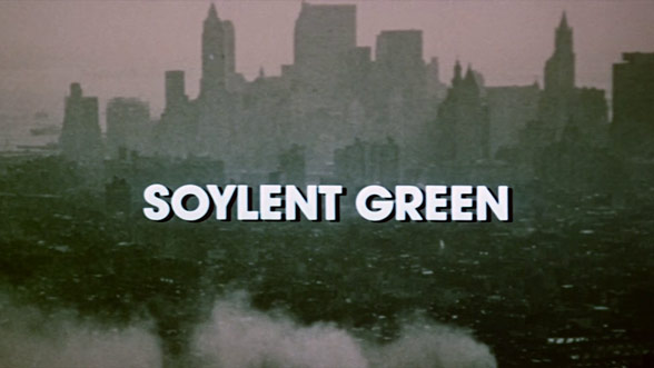 Soylent Green (1973) — Art of the Title