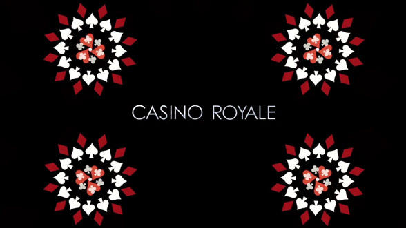 casino royale opening titles