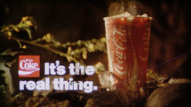 Reference Coca Cola commerical