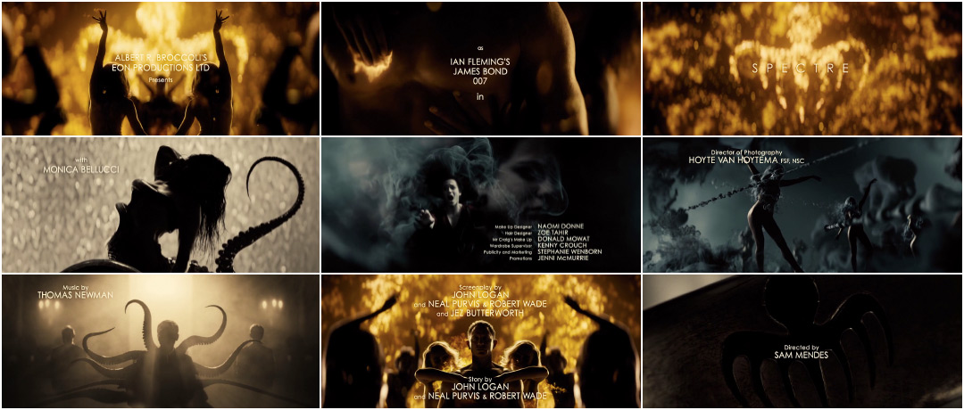 Spectre 2015 Art Of The Title