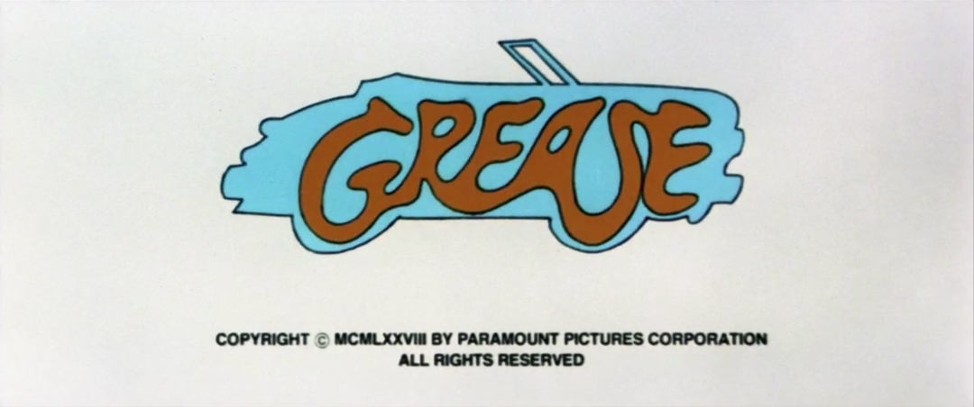 IMAGE: Grease title card