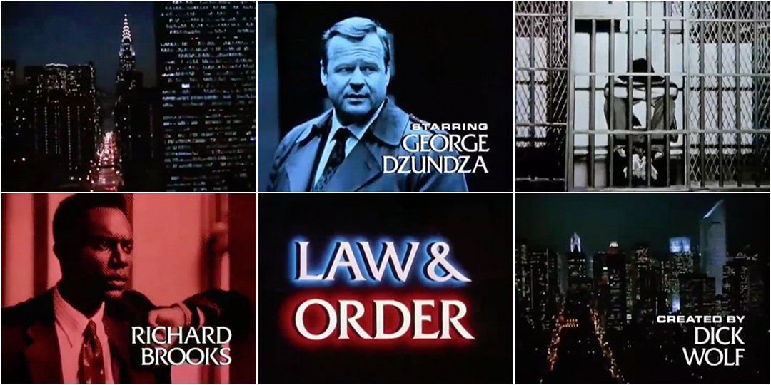VIDEO: Title Sequence - Law & Order