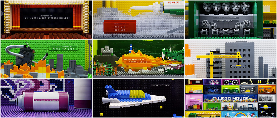 The Lego Movie 2014 Art Of The Title