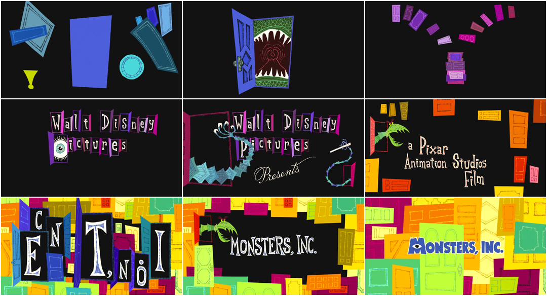 Monsters Inc 2001 Art Of The Title