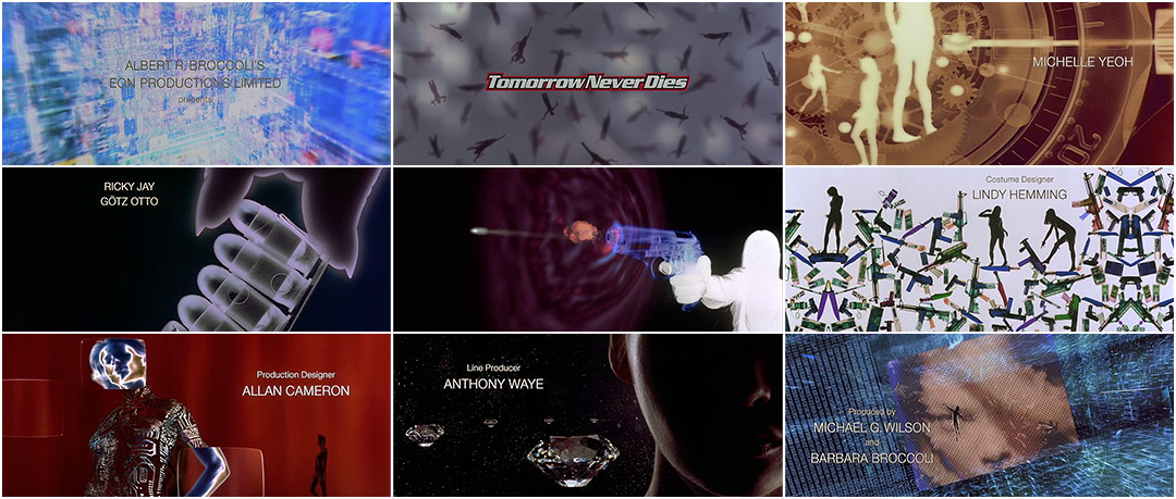 Tomorrow Never Dies 1997 Art Of The Title