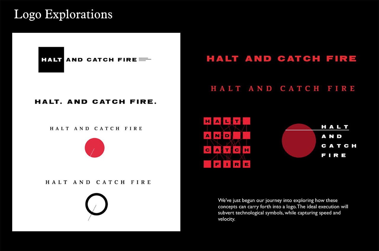 Halt And Catch Fire 2014 Art Of The Title