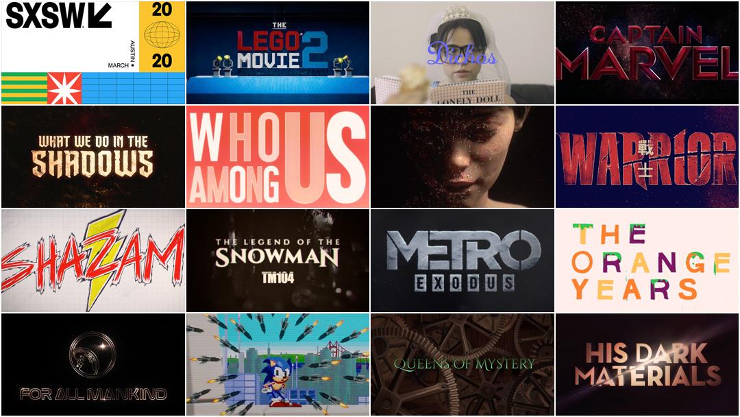 SXSW 2020 Film Awards: Title Design Finalists