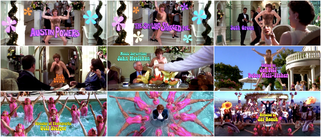 Austin Powers The Spy Who Shagged Me 1999 Art Of The Title