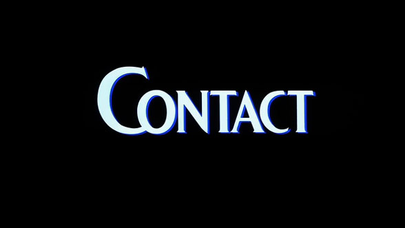 Contact 1997 Art Of The Title