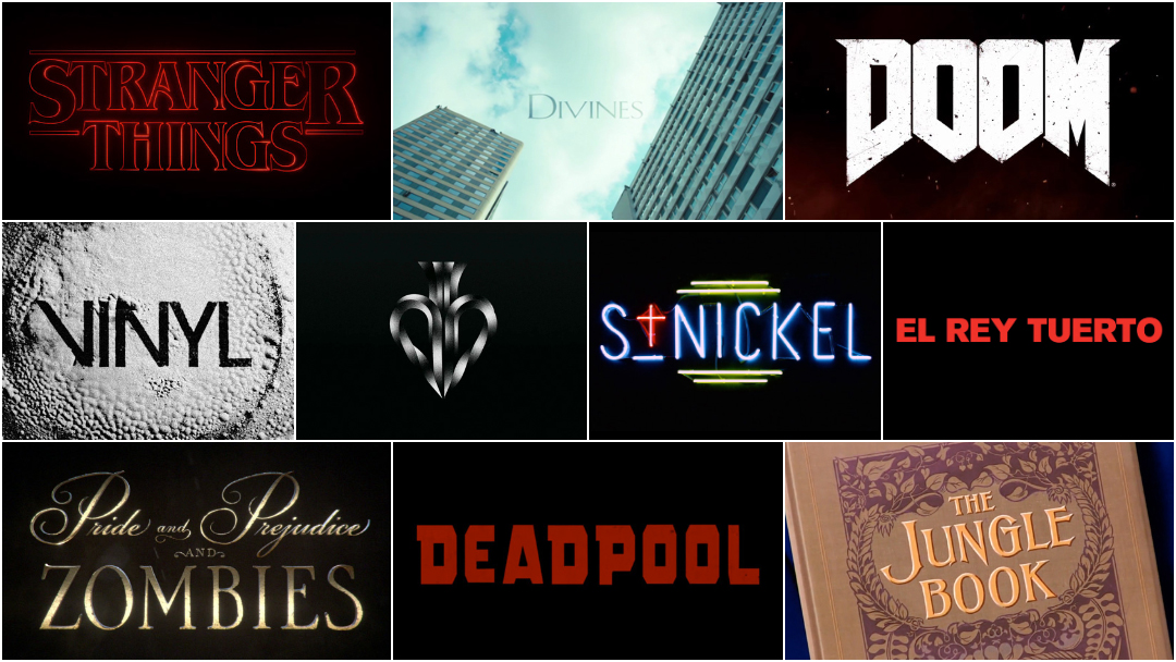 Top 10 Title Sequences of 2016 — Art of the Title