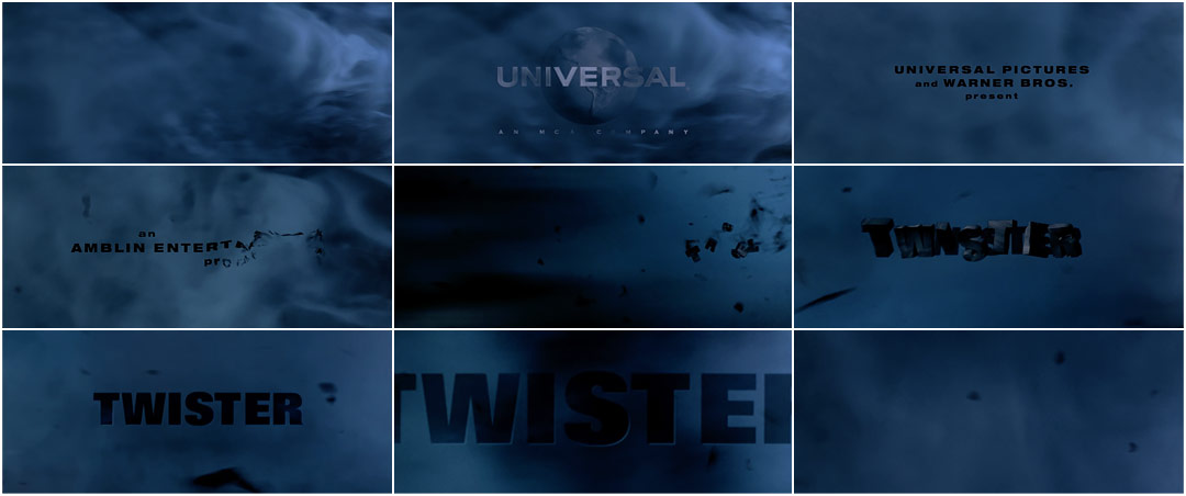 Twister 1996 Art Of The Title