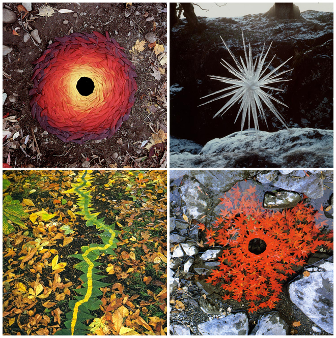 IMAGE: Art by Andy Goldsworthy
