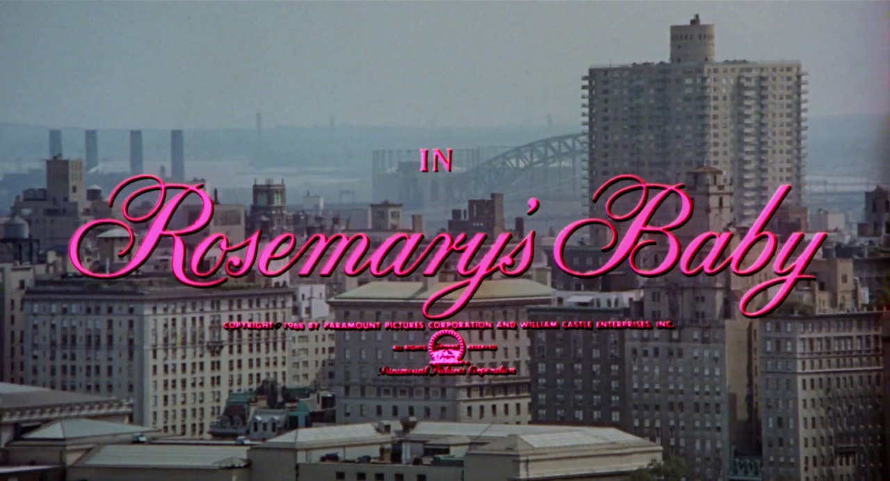 Image result for Rosemary's Baby title card