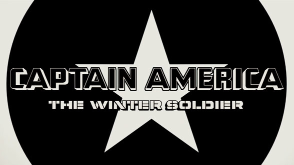 Captain America: The Winter Soldier (2014) — Art of the Title