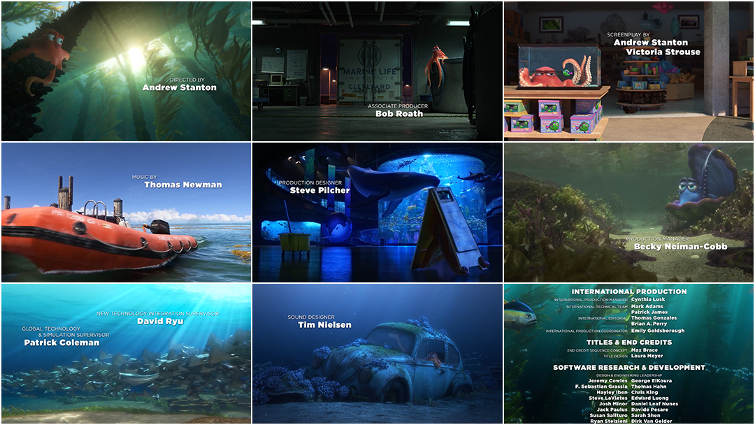 Finding Dory 2016 Art Of The Title