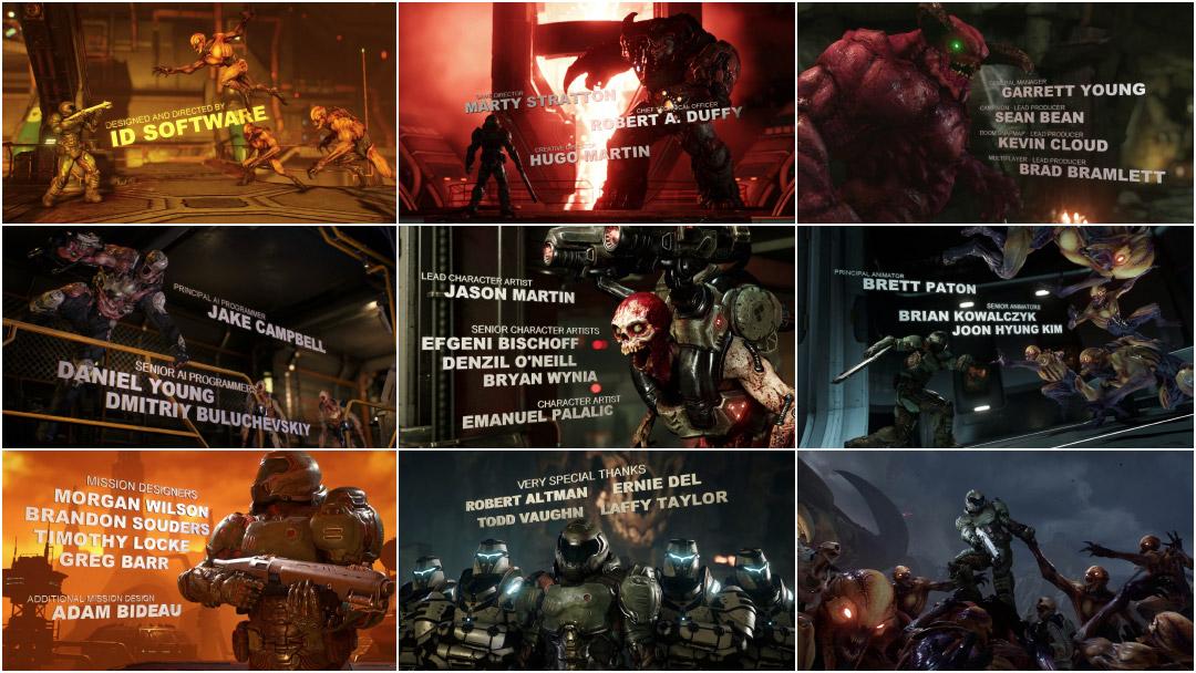 Doom 2016 Art Of The Title